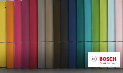Bosch Kühlschrank Licht Geht Nicht Aus : Bosch vario style farbige fronten für ihren kühlschrank